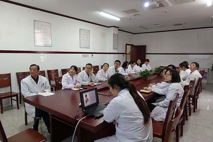 沙建飞名医工作室开展学习活动